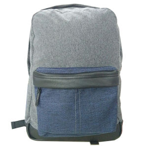 New Developed City Backapack with Jersey Melange PU Casual Backpack