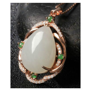 Fashion Simplicity Design Jade Pendant pictures & photos