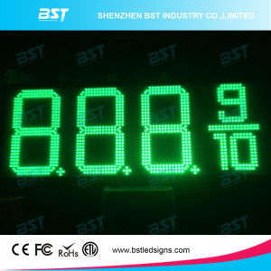 Outdoor Waterproof White Color Gas Price LED Sign (8888) pictures & photos