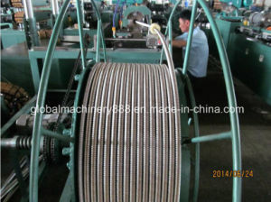 Corrugated Flexible Metal Gas Hose Pipe Forming Machine