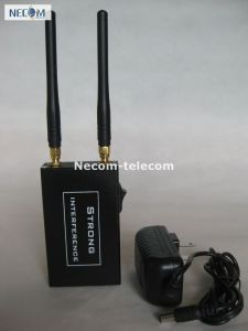 2 Antenna Remote Control RF Jammer (315MHz433MHz) , Wireless Car Remote Control Jammer 315MHz 433MHz pictures & photos