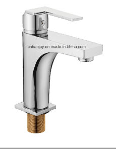 New and Modern Model Deck Mounted Single Handle Brass Basin Tap (H16-101) pictures & photos