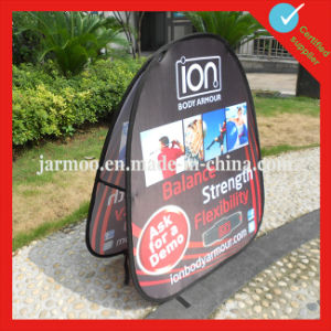 Outdoor Promotional Adjustable Outdoor Banner Stand pictures & photos