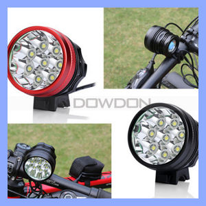 CREE T6 12000lm Rechargeable 8 LED Bike Front Light pictures & photos