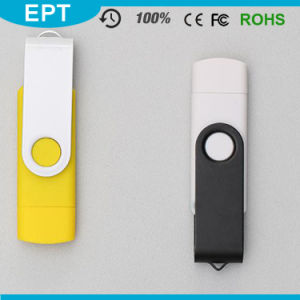 2017 Home&Office Uses Plastic OTG USB Flash Drive for Android Phone pictures & photos