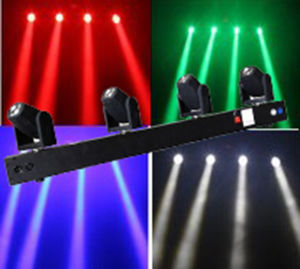 LED Moving 4-Head Beam Stage Light