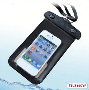 2015 Hot Plastic Clear Waterproof Bag for iPhone