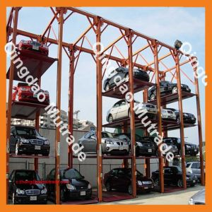 4 Post Hydraulic Multilevel Electric Car Parking Lifter pictures & photos