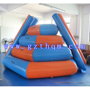Inflatable Trampoline/Orange PVC Inflatable Trampoline pictures & photos