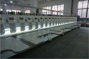 1200 Rpm Running Speed 9 Needles 24 Heads Embroidery Machine pictures & photos