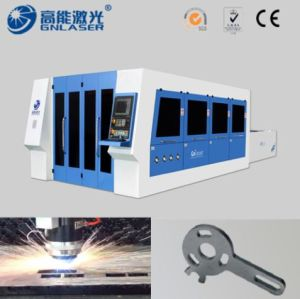 Fiber Laser 2000W with Steel Metal Cutting