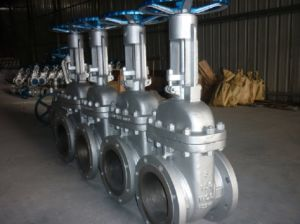 API Stainless Steel Gate Valve with Flange pictures & photos