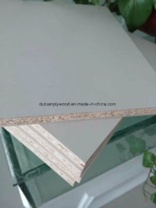 18mm Wood Grain Color Melamine Faced Particle Board for Door pictures & photos
