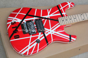 Hanhai Music / Kramer Style Red Electric Guitar with Floyd Rose pictures & photos