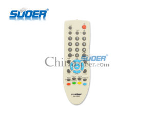 Suoer Factory Price TV Remote Control LCD TV Remote Control Universal Remote Control (RM-580B) pictures & photos