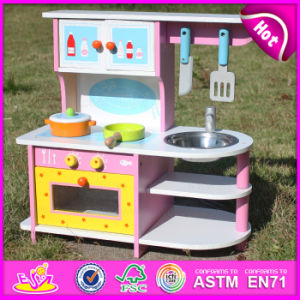 2015 New Wooden Kitchen Toy, Wooden Toy Kitchen, Wood Toy Kitchen Set, Kids Wooden Kitchen Set Toy W10c167 pictures & photos