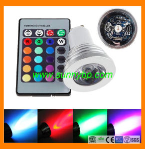 RGB LED Spotlight with Remote Control pictures & photos
