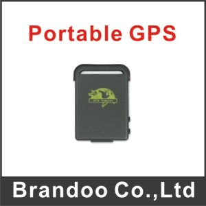 Portable Car GPS Tracker 102 with GSM Alarm Micro SD Card Slot Anti-Theft Real-Time Track Shock Sensor 850/900/1800/1900MHz pictures & photos