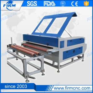 Jinan CO2 Laser Cutter Cloth Fabric CO2 Laser Cutting Machine pictures & photos