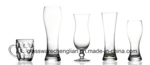 Hand Made Various Designs of Beer Glass (B-PJB014) pictures & photos