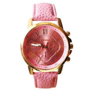 Women Watch Ladies Leather Watch pictures & photos
