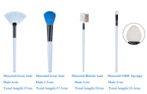 7 Pieces Fresh and Elegant Beautiful Equipment portable Makeup Brush pictures & photos