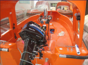 Solas Approval Fire-Resistant Fast Rescue Boat pictures & photos