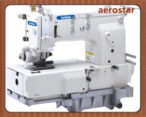 Br-1412p 12 Needle Flat -Bed Double Double Chain Stitch Sewing Machine pictures & photos