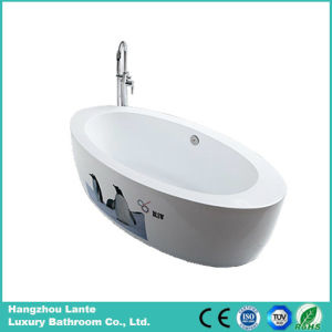 Hot Sell Modern Acrylic Freestanding Bathtub (LT-6E) pictures & photos