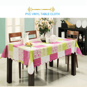 Environmentall-Friendly PVC Table Cloth pictures & photos