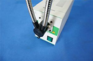 Cold Light Source for Stereo Microscopes Dual Gooseneck Fiber Pipes pictures & photos