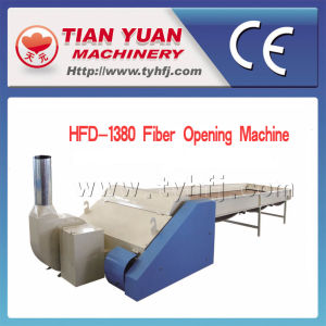 Top Level Nonwoven Chemical Fiber Opening Machine pictures & photos