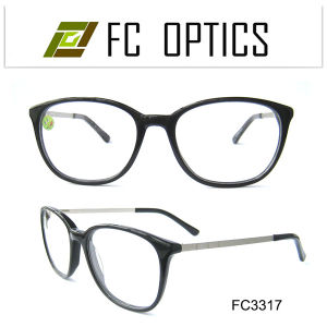 New Style Acetate Optical Frame with Metal Foot pictures & photos