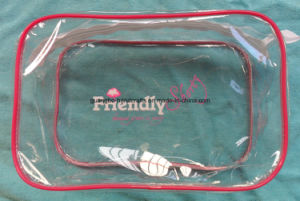Custom Logo Transparent PVC Waterproof Bag pictures & photos