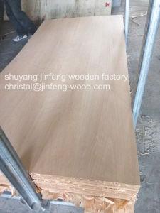 High Quality 4*8 Size QC Cut Teak Veneer MDF pictures & photos