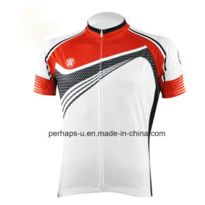 Quick-Drying Unisex Cycling Jersey with Sublimation Print pictures & photos