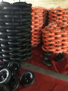 PU Flat Free Wheelbarrow Wheel pictures & photos
