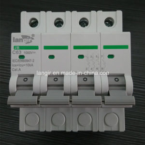 Solar DC Circuit Breaker with TUV Certificates with 1A, 2A, 3A, 4A, 6A, 10A, 154A, 16A, 20A, 25A, 30A, 32A, 40A, 50A, 63A pictures & photos