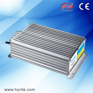 Hyrite IP67 Waterproof LED Driver CV Slim Aluminum Power Supply 150W 12V, 5V, 24V Constant Voltage LED Driver with Ce pictures & photos