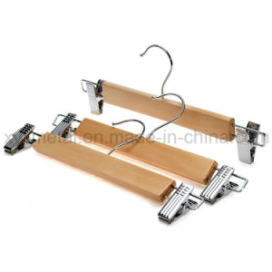 Natural Color Wooden Hanger for Skirts and Pants pictures & photos