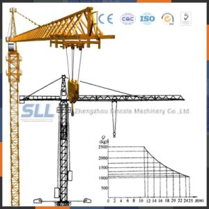 8t Tower Crane for Sale/140m Max Height Tower Crane pictures & photos