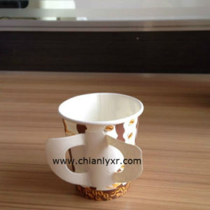 Ly Coffee Paper Cup with Handle (LY-QXL) pictures & photos