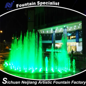 Music Dancing Fountain with Colorful Lighting