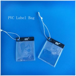 Plastic Jewelry Label Cover&Bag. Tag PVC Plastic Cover pictures & photos