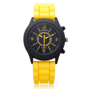 New Fashion Colorful Silicone Wristband Jelly Watch for Sports pictures & photos