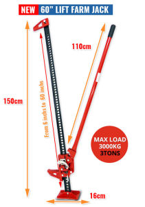 """Hi Lift Farm Jack 48"""" High Lift 4X4 4WD Offroad Recovery pictures & photos"""