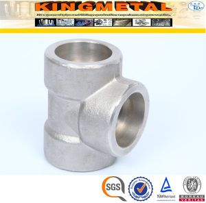 SA 182 316L Forged Stainless Steel Pipe Fittings Socket Tee pictures & photos