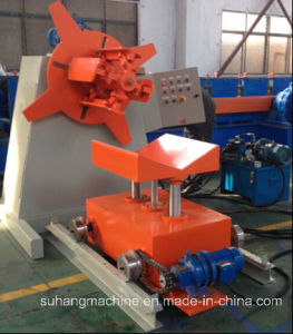 Heavy Duty 8 Ton Hydraulic Metal Coil Uncoiler with Loading Car pictures & photos