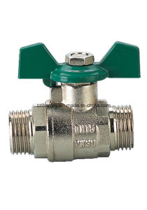 High Quality Brass Ball Valve (NV-1025) pictures & photos