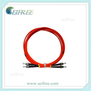 Multi Mode Fiber Optic Patch Cord Cable ST/PC St/Upc pictures & photos